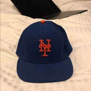 Official on field Mets Cap